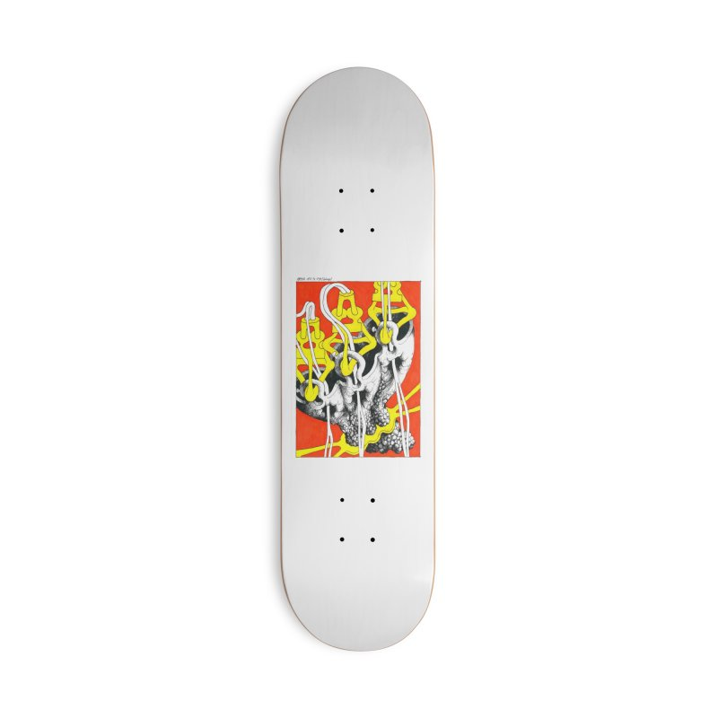 Drawing Blog No.2 - 10.4.09 Accessories Deck Only Skateboard by schizo pop