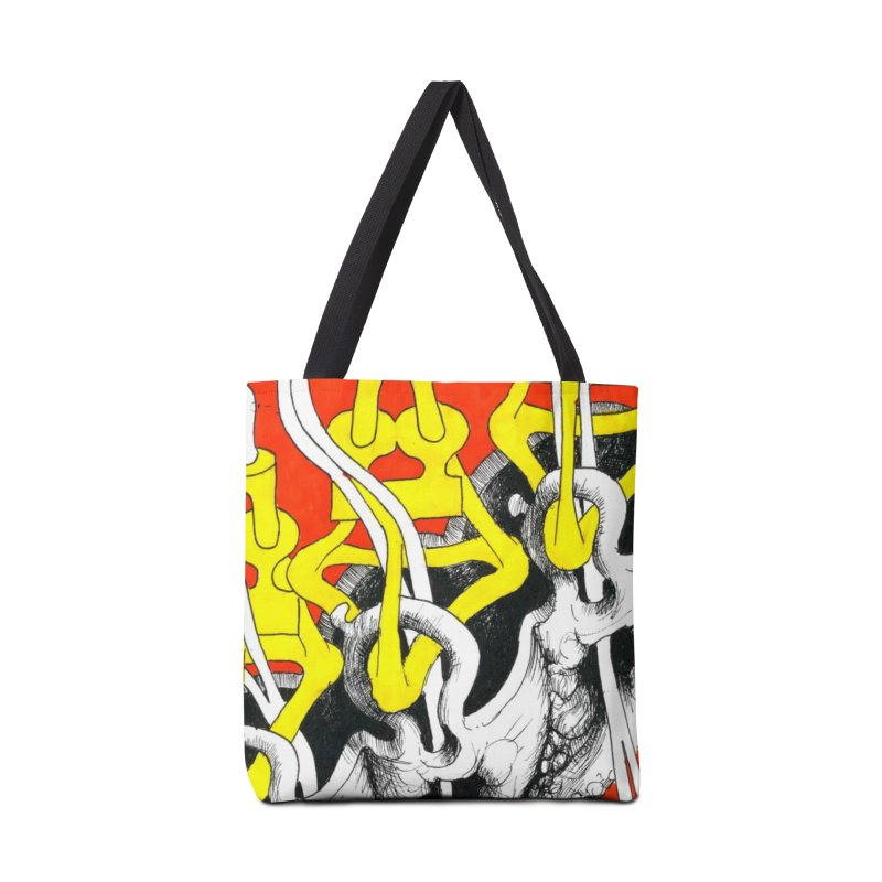 Drawing Blog No.2 - 10.4.09 Accessories Tote Bag Bag by schizo pop