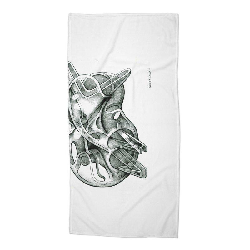 Drawing Blog No.5 - 22.11.13 Accessories Beach Towel by schizo pop