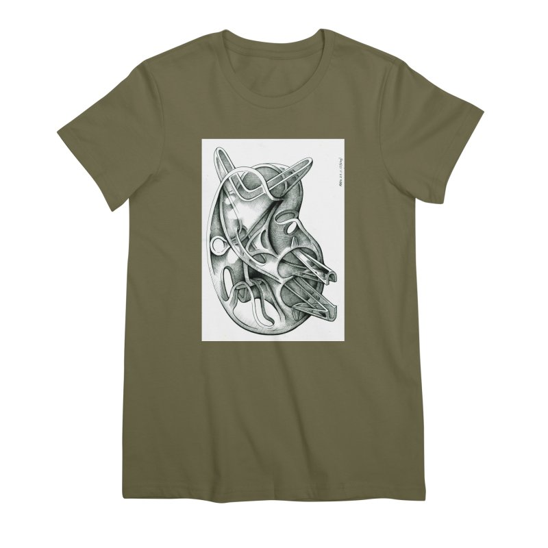 Drawing Blog No.5 - 22.11.13 Women's Premium T-Shirt by schizo pop