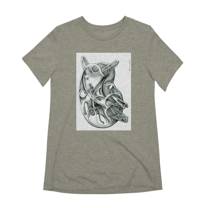 Drawing Blog No.5 - 22.11.13 Women's Extra Soft T-Shirt by schizo pop