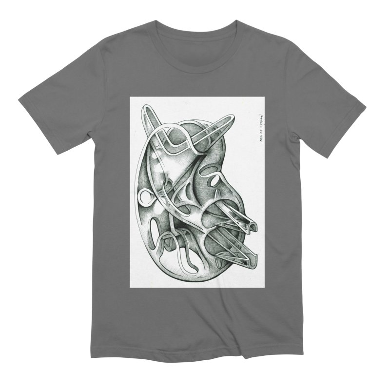 Drawing Blog No.5 - 22.11.13 Men's T-Shirt by schizo pop