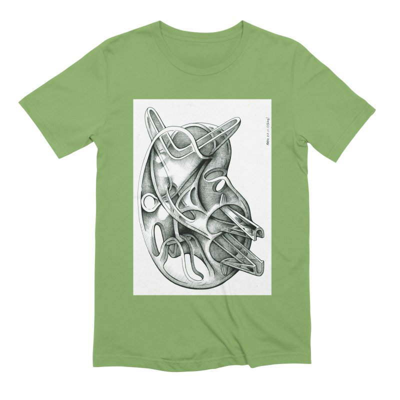 Drawing Blog No.5 - 22.11.13 Men's Extra Soft T-Shirt by schizo pop