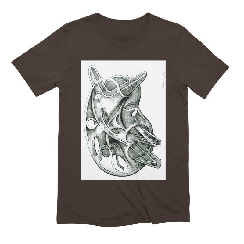 Drawing Blog No.5 - 22.11.13 Men's Extra Soft T-Shirt by schizo pop