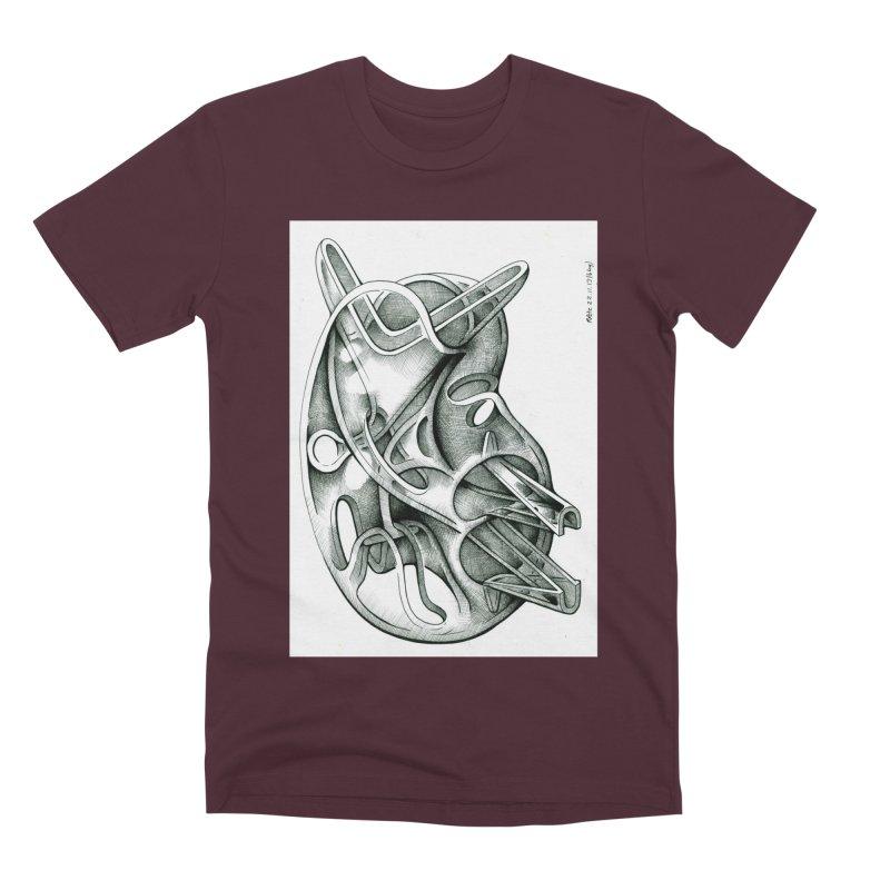 Drawing Blog No.5 - 22.11.13 Men's Premium T-Shirt by schizo pop