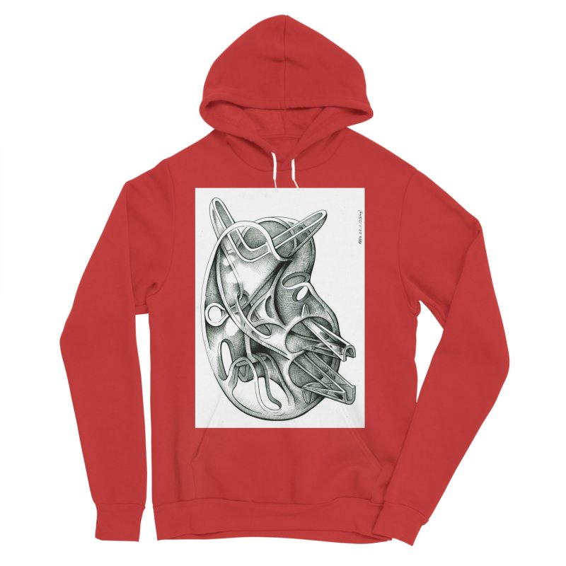 Drawing Blog No.5 - 22.11.13 Women's Sponge Fleece Pullover Hoody by schizo pop