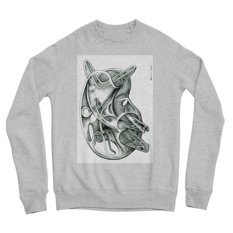 Drawing Blog No.5 - 22.11.13 Men's Sponge Fleece Sweatshirt by schizo pop