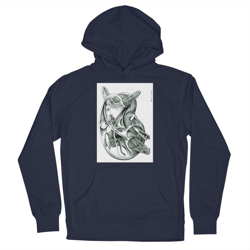 Drawing Blog No.5 - 22.11.13 Men's Pullover Hoody by schizo pop