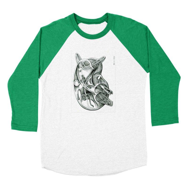 Drawing Blog No.5 - 22.11.13 Men's Baseball Triblend Longsleeve T-Shirt by schizo pop