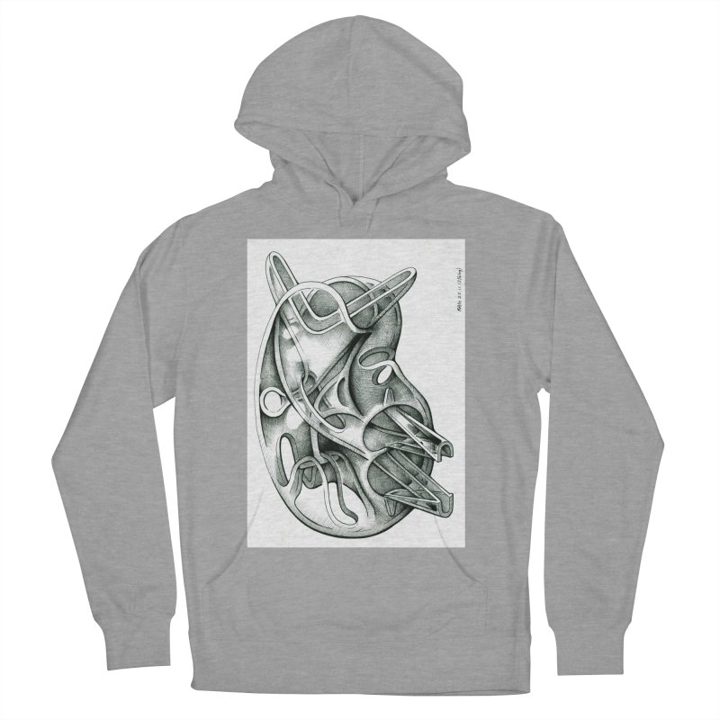Drawing Blog No.5 - 22.11.13 Women's French Terry Pullover Hoody by schizo pop