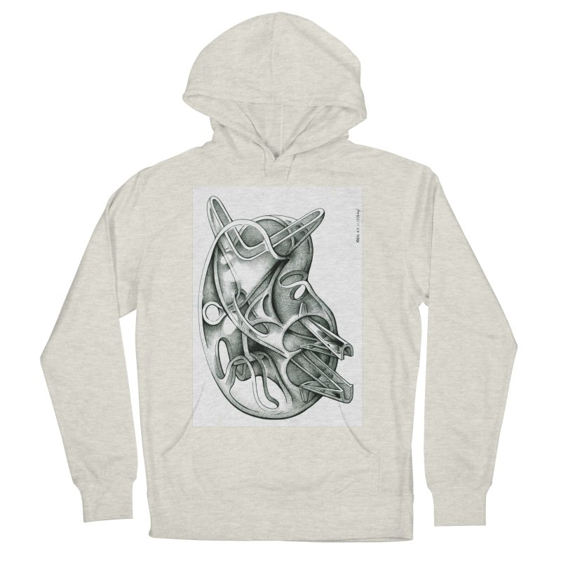 Drawing Blog No.5 - 22.11.13 Men's French Terry Pullover Hoody by schizo pop
