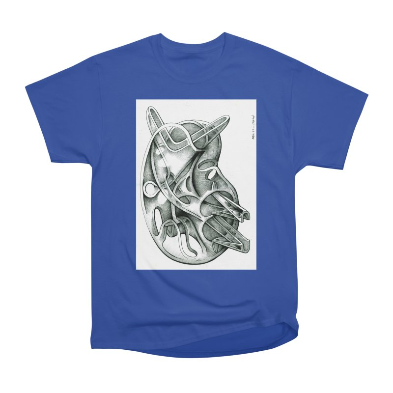 Drawing Blog No.5 - 22.11.13 Women's Heavyweight Unisex T-Shirt by schizo pop