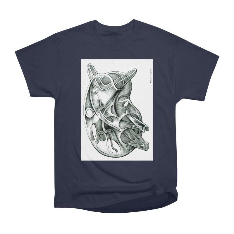 Drawing Blog No.5 - 22.11.13 Men's Heavyweight T-Shirt by schizo pop