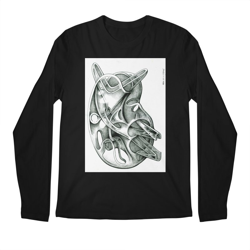 Drawing Blog No.5 - 22.11.13 Men's Regular Longsleeve T-Shirt by schizo pop