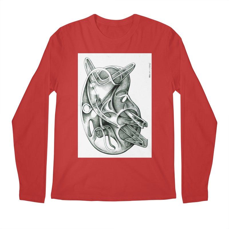 Drawing Blog No.5 - 22.11.13 Men's Regular Longsleeve T-Shirt by schizo pop