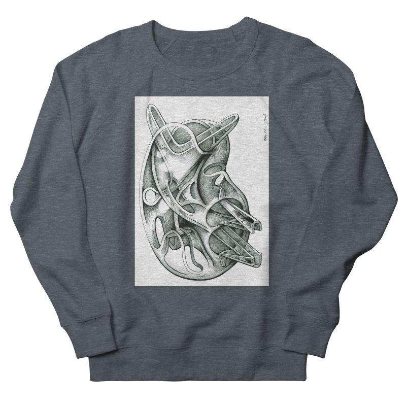 Drawing Blog No.5 - 22.11.13 Men's French Terry Sweatshirt by schizo pop
