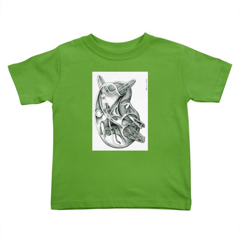 Drawing Blog No.5 - 22.11.13 Kids Toddler T-Shirt by schizo pop