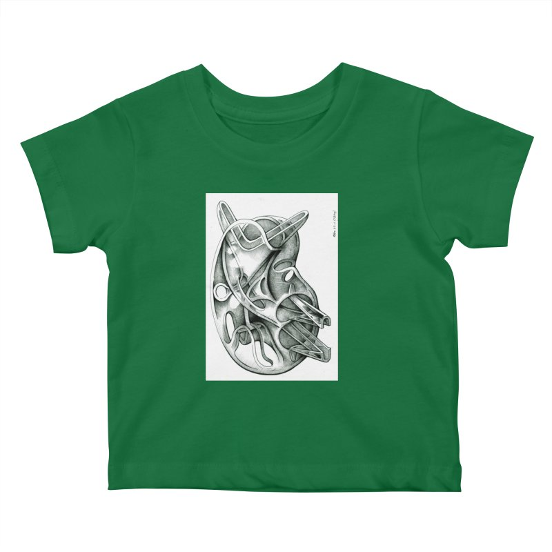 Drawing Blog No.5 - 22.11.13 Kids Baby T-Shirt by schizo pop