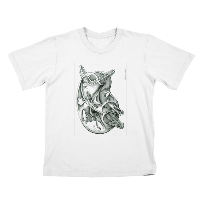Drawing Blog No.5 - 22.11.13 Kids T-Shirt by schizo pop