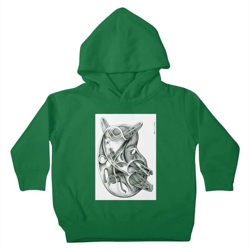 Drawing Blog No.5 - 22.11.13 Kids Toddler Pullover Hoody by schizo pop