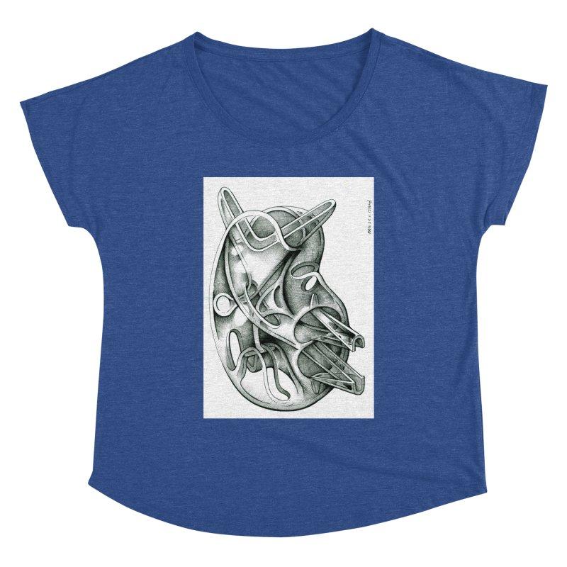 Drawing Blog No.5 - 22.11.13 Women's Scoop Neck by schizo pop