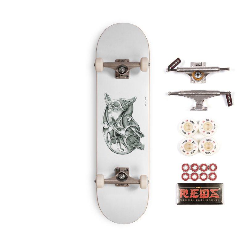 Drawing Blog No.5 - 22.11.13 Accessories Skateboard by schizo pop