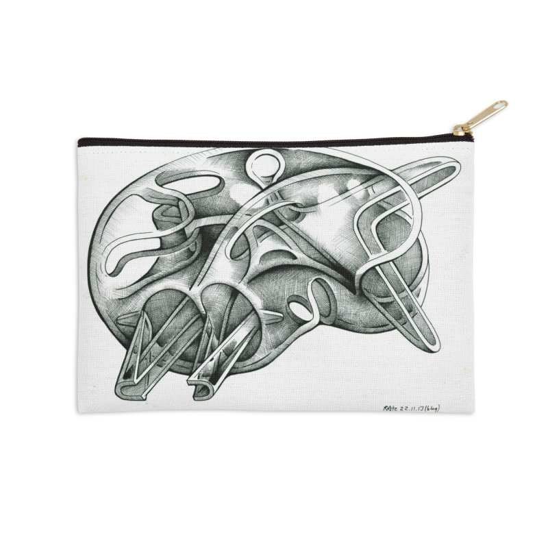 Drawing Blog No.5 - 22.11.13 Accessories Zip Pouch by schizo pop