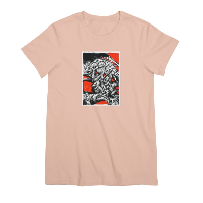 Drawing Blog No.2 - 14.4.09 Women's Premium T-Shirt by schizo pop