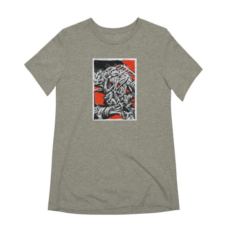 Drawing Blog No.2 - 14.4.09 Women's Extra Soft T-Shirt by schizo pop