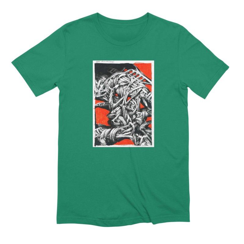 Drawing Blog No.2 - 14.4.09 Men's Extra Soft T-Shirt by schizo pop