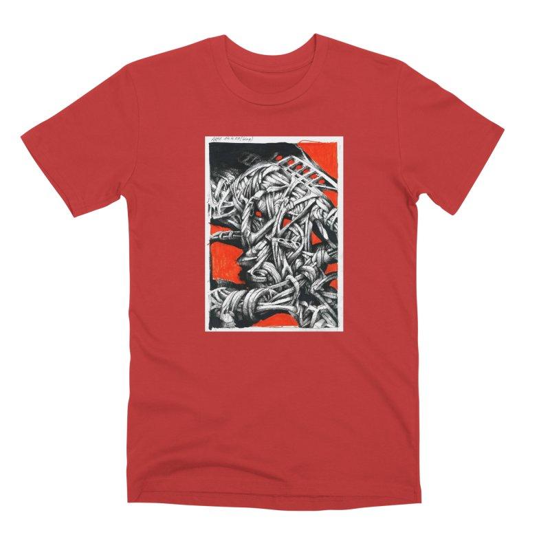 Drawing Blog No.2 - 14.4.09 Men's Premium T-Shirt by schizo pop