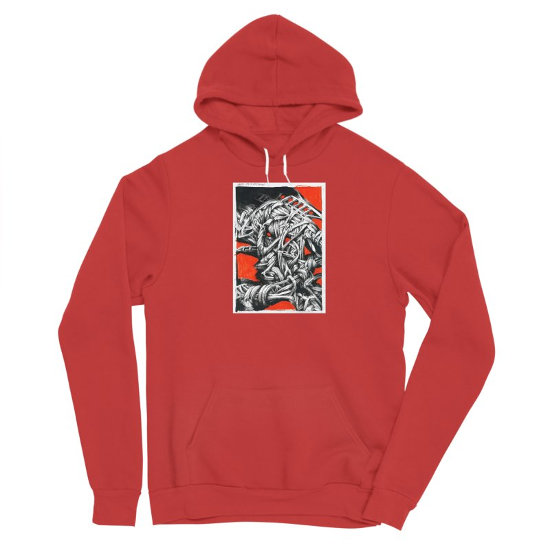 Drawing Blog No.2 - 14.4.09 Women's Pullover Hoody by schizo pop