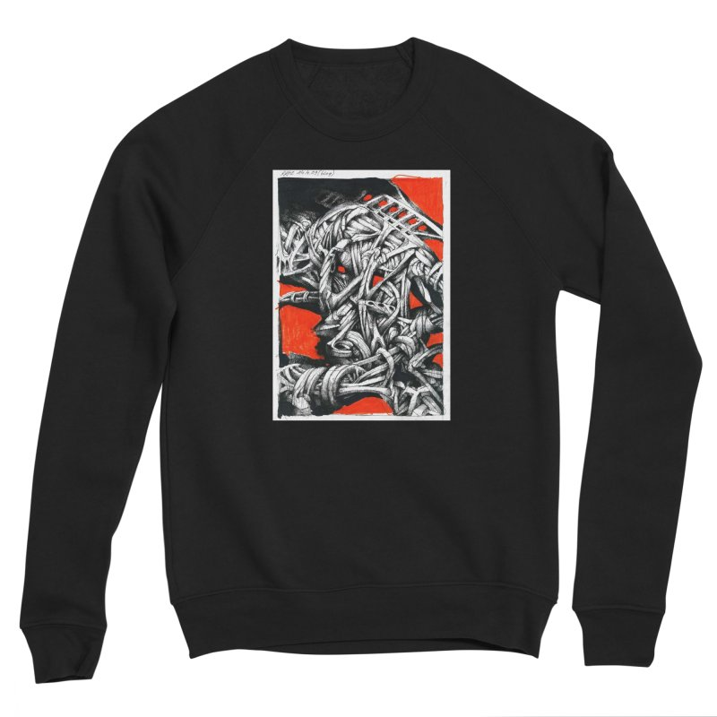 Drawing Blog No.2 - 14.4.09 Men's Sponge Fleece Sweatshirt by schizo pop