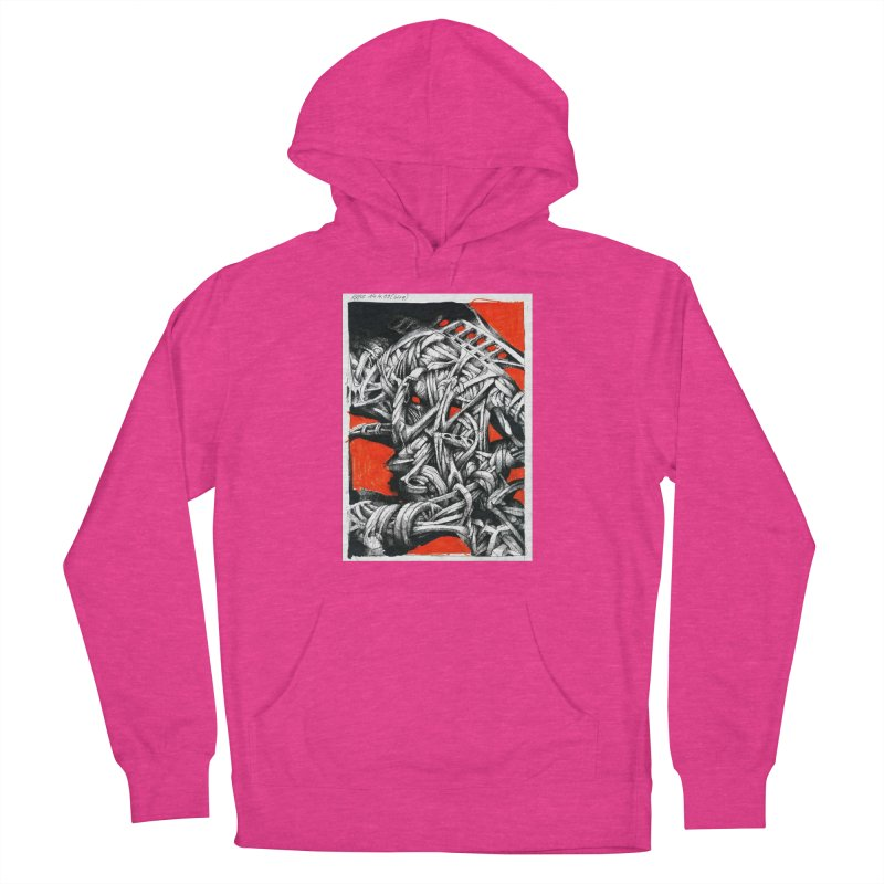 Drawing Blog No.2 - 14.4.09 Women's French Terry Pullover Hoody by schizo pop