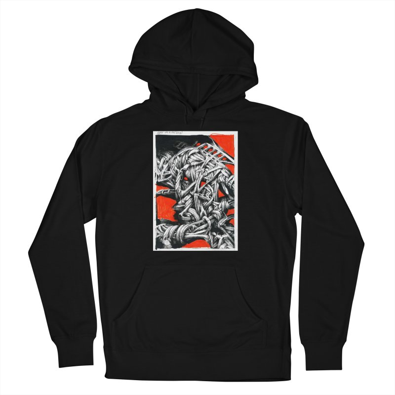 Drawing Blog No.2 - 14.4.09 Men's French Terry Pullover Hoody by schizo pop