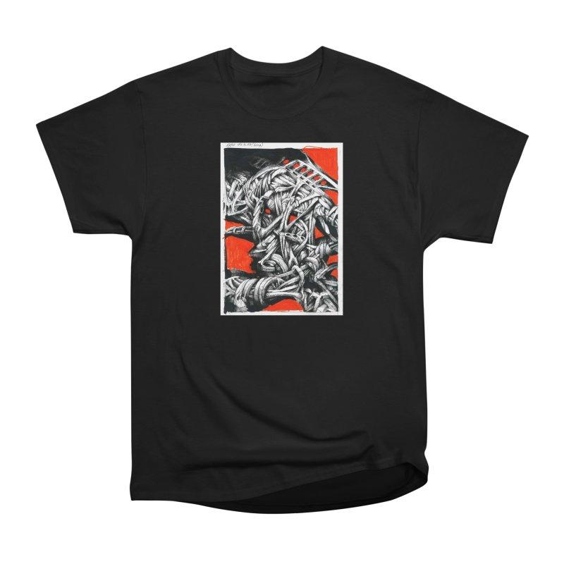 Drawing Blog No.2 - 14.4.09 Men's Heavyweight T-Shirt by schizo pop