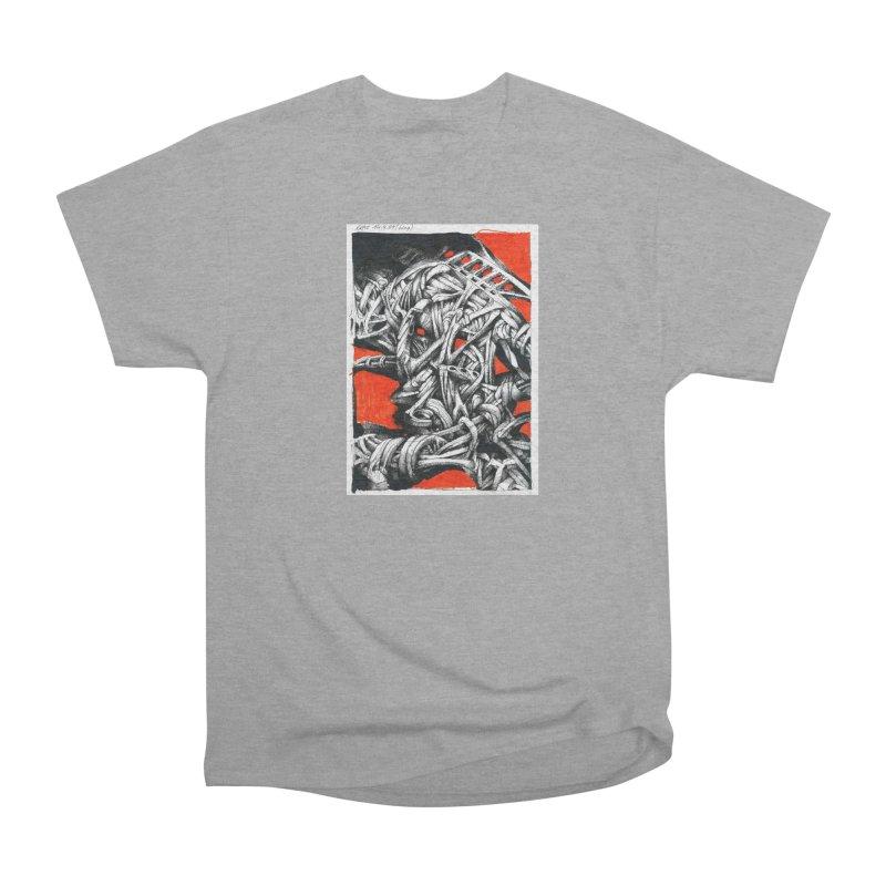 Drawing Blog No.2 - 14.4.09 Women's Heavyweight Unisex T-Shirt by schizo pop