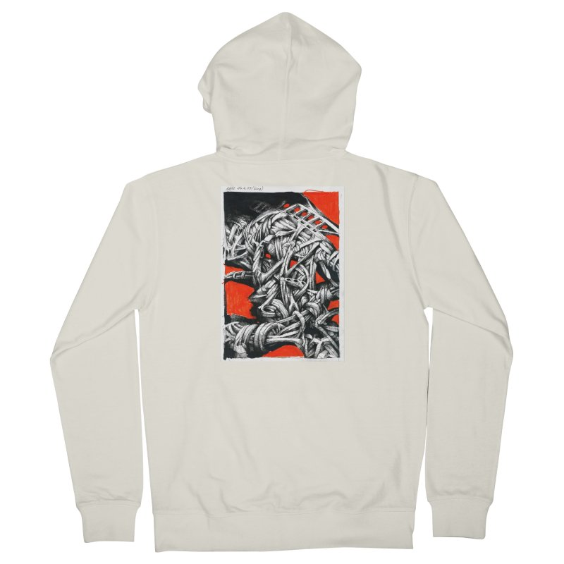 Drawing Blog No.2 - 14.4.09 Women's French Terry Zip-Up Hoody by schizo pop