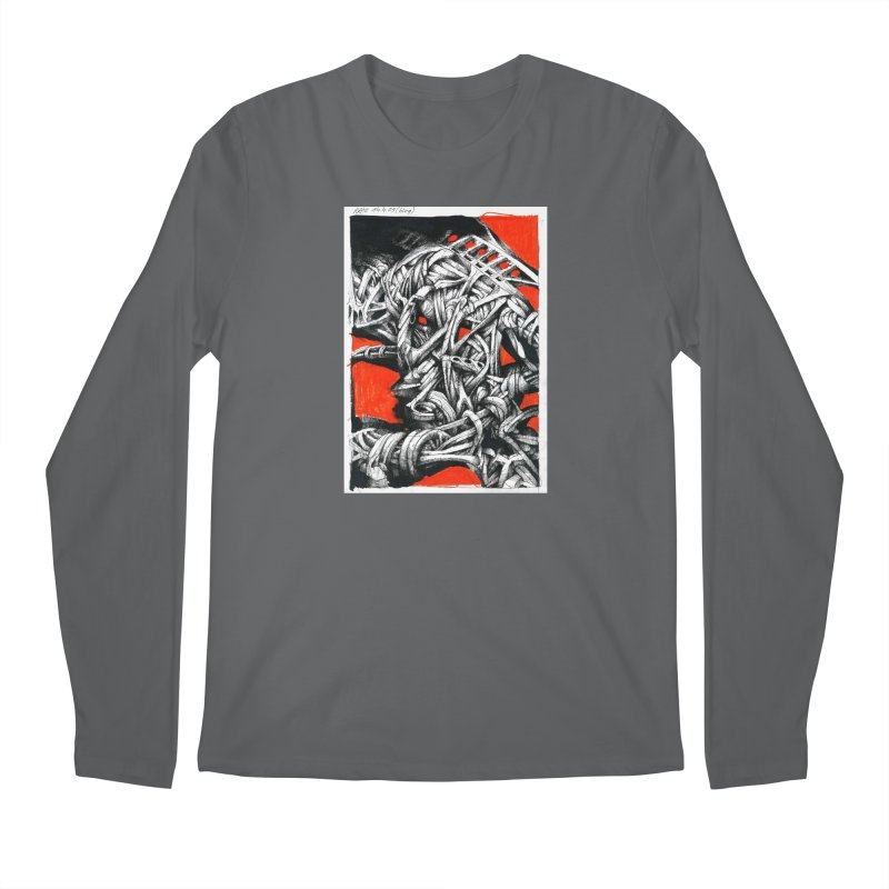 Drawing Blog No.2 - 14.4.09 Men's Longsleeve T-Shirt by schizo pop