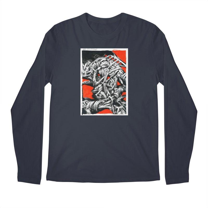 Drawing Blog No.2 - 14.4.09 Men's Regular Longsleeve T-Shirt by schizo pop
