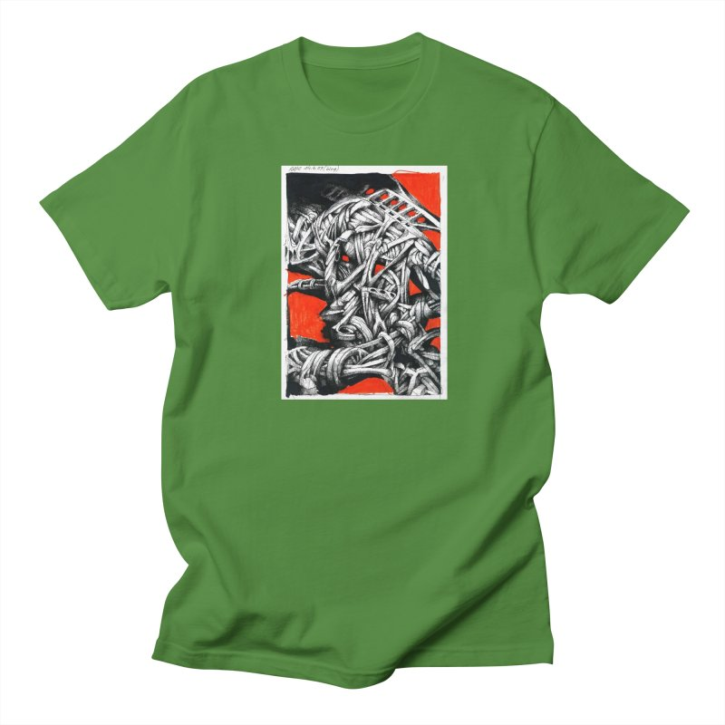 Drawing Blog No.2 - 14.4.09 Women's Regular Unisex T-Shirt by schizo pop