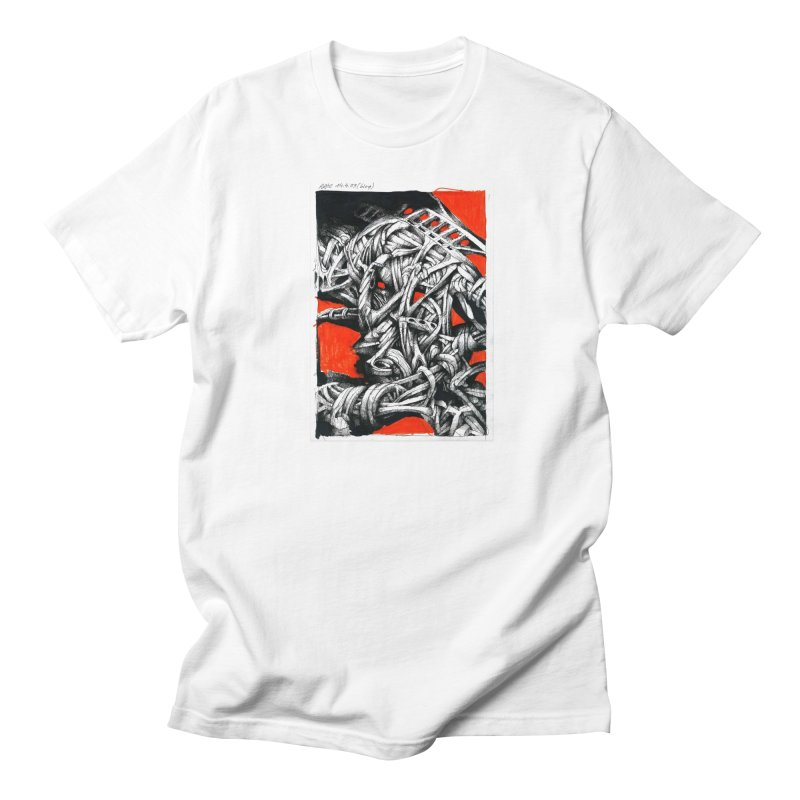 Drawing Blog No.2 - 14.4.09 Men's Regular T-Shirt by schizo pop