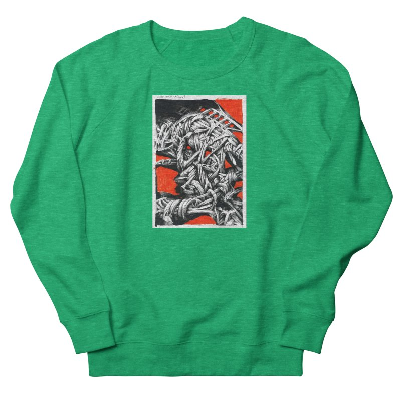 Drawing Blog No.2 - 14.4.09 Women's Sweatshirt by schizo pop