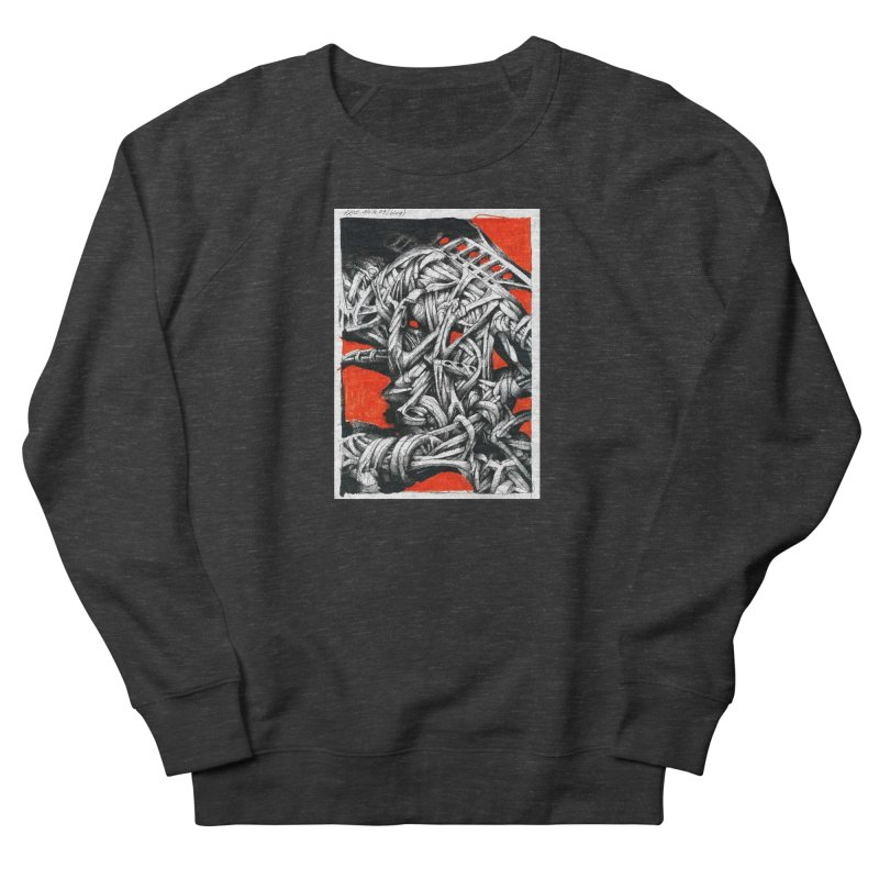 Drawing Blog No.2 - 14.4.09 Men's French Terry Sweatshirt by schizo pop