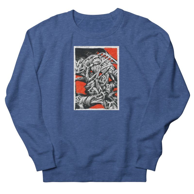 Drawing Blog No.2 - 14.4.09 Men's Sweatshirt by schizo pop