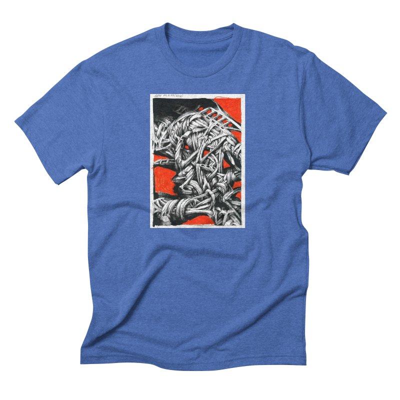Drawing Blog No.2 - 14.4.09 Men's T-Shirt by schizo pop