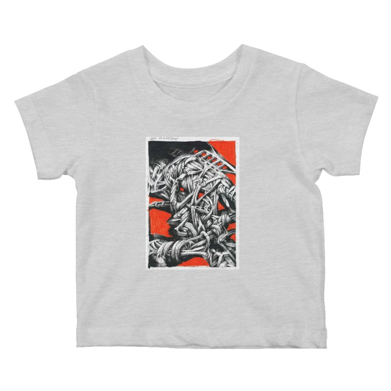 Drawing Blog No.2 - 14.4.09 Kids Baby T-Shirt by schizo pop