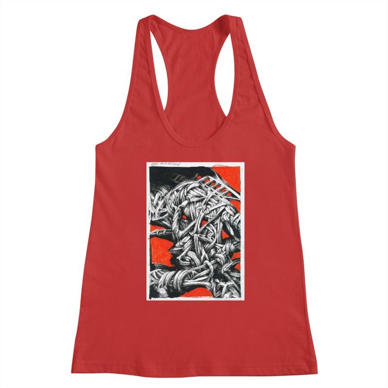 Drawing Blog No.2 - 14.4.09 Women's Tank by schizo pop