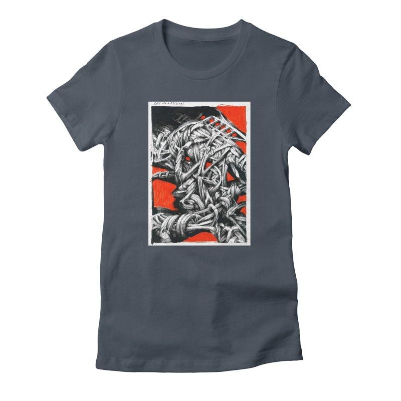 Drawing Blog No.2 - 14.4.09 Women's T-Shirt by schizo pop