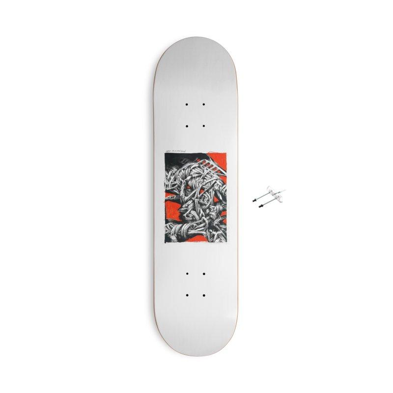 Drawing Blog No.2 - 14.4.09 Accessories Skateboard by schizo pop